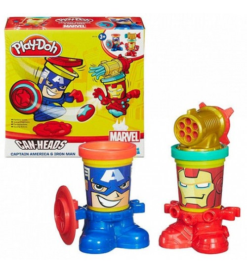 Play Doh Marvel - Суперцена!