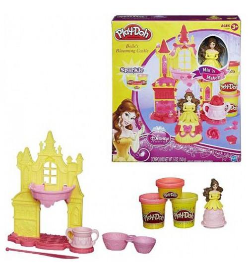 Play Doh замок принцессы Белль - Суперцена!