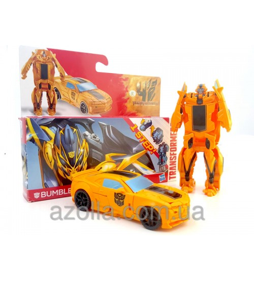 Трансформеры 4 Hasbro ONE STEP bumblebee