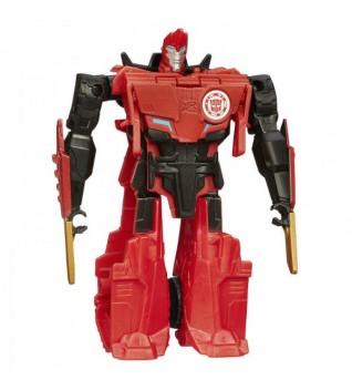 Игрушка Трансформеры Hasbro Роботс-ин-Дисгайс Уан-Стэп Сайдсвайп 12 см