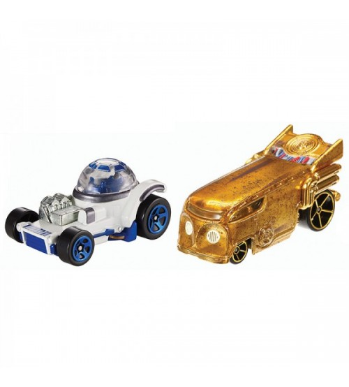 Базовые машинки Hot Wheels Star Wars SW 2 шт