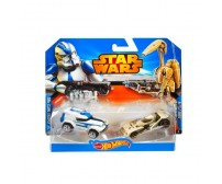 Базовые машинки Hot Wheels Star Wars 2 шт
