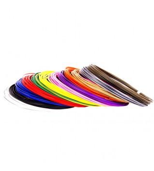Пластик для 3D-ручки 8 цветов, 160 метров