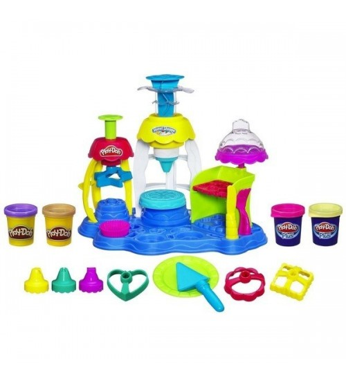 Игровой набор Play-Doh PLUS Фабрика пирожных