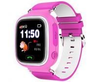 Детские Умные Часы с GPS Трекером Smart Baby Watch А10 (Q90) Розовые