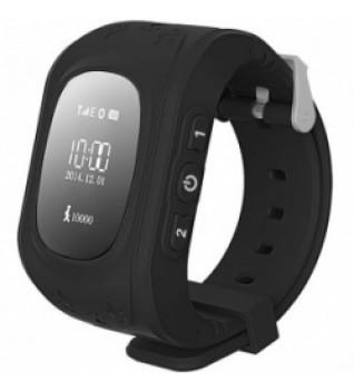 Умные Детские Часы с GPS Трекером Q50 Smart Baby Watch Черные