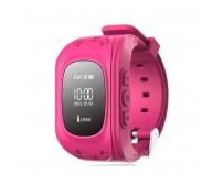 Умные Детские Часы с GPS Ткером Q50 Smart Baby Watch Розовые
