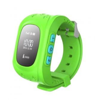 Умные Детские Часы с GPS Трекером Q50 Smart Baby Watch Салатовые