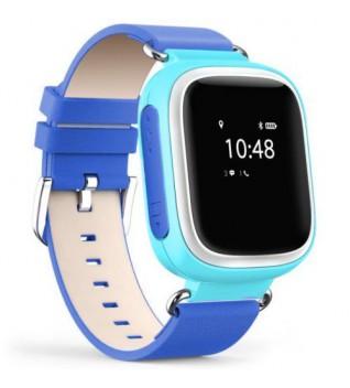 Умные Детские Часы с GPS Трекером Smart Baby Watch Q60 Насыщенно Голубые
