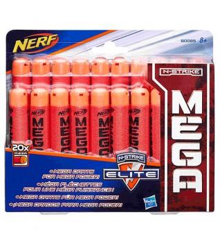 Набор стрел NERF Мега 20 шт.