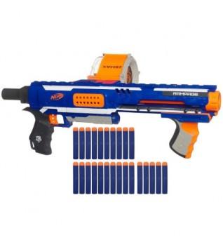 Бластер Nerf Rampage (Пулемет)